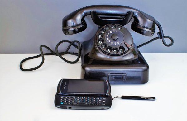 Actionbild-Telefon-Museum