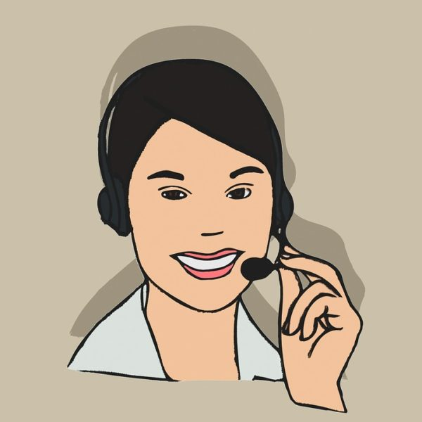 Actionbild-call-center-agent