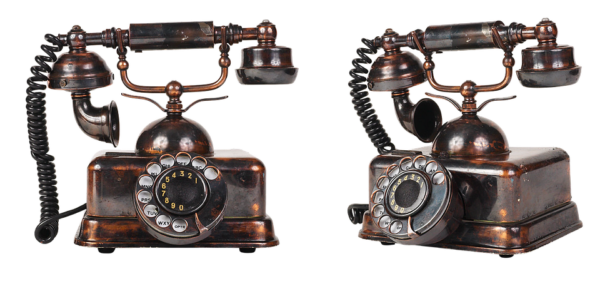 Actionbild-vintage-telefon