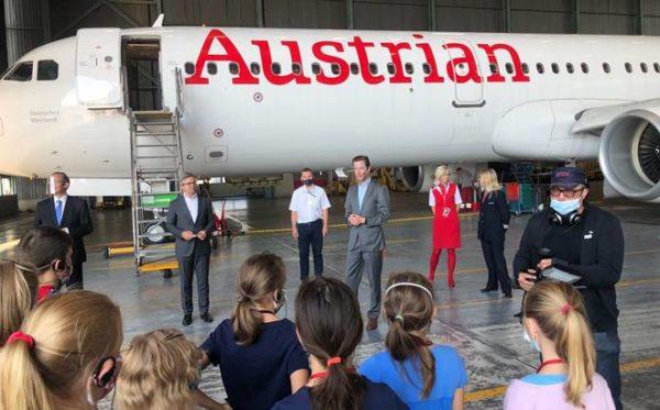 Austrian-Führung-Begrüßung