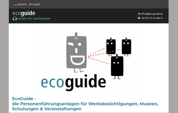 EcoGuide Webpage