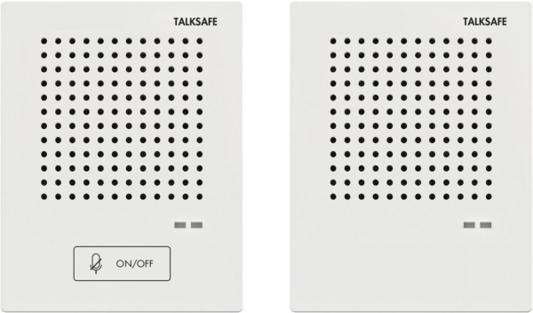 Gegensprechanlage-mit-2-Lautsprecher-Mikrofone