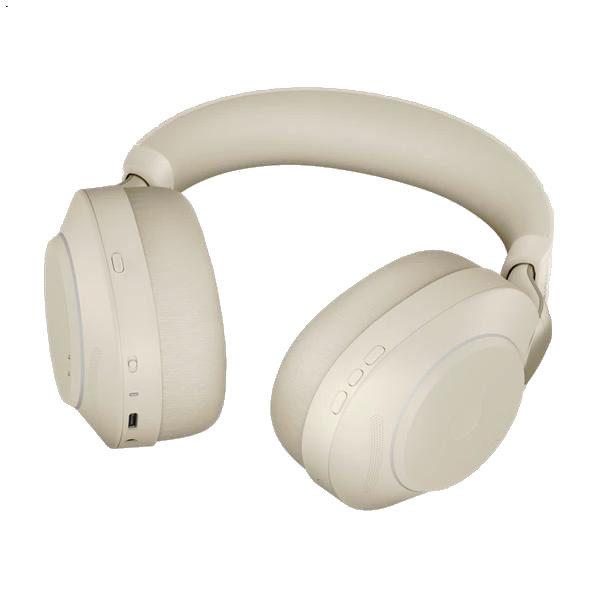 Jabra-Evolve2-85-UC-MS-kabellos-doppelseitig-PC-Handy-beige