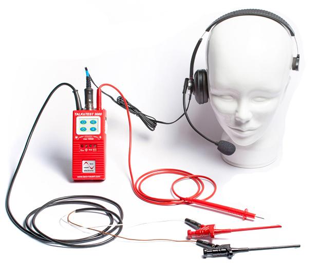 Kabeladerpruefgeraet headset 3000