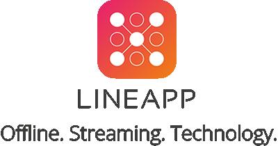 Logo LINEAPP 4c & Slogan PNG