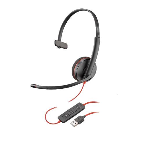 Plantronics-Blackwire-3210-USB-kabelgebunden-einseitig