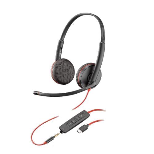 Plantronics-Blackwire-3225-USB-Klinke-kabelgebunden-doppelseitig2