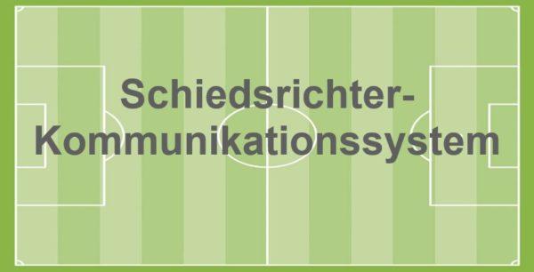 Schiedsrichter-Kommunikationssystem