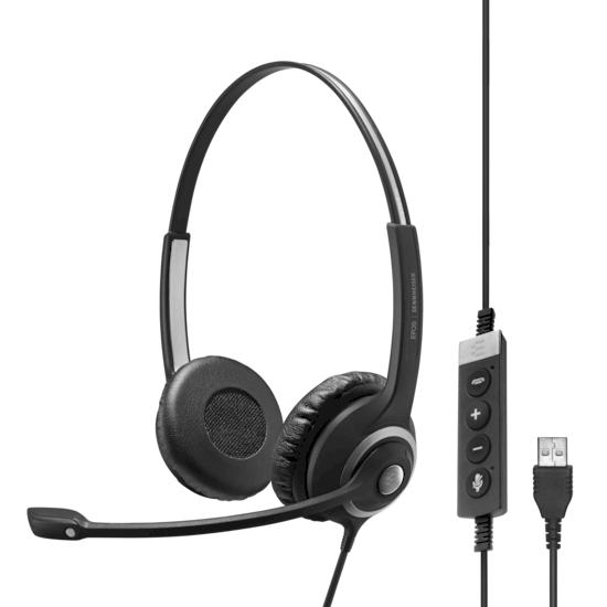 Sennheiser-Impact-SC-260-USB-MS-II-kabelgebunden-binaural