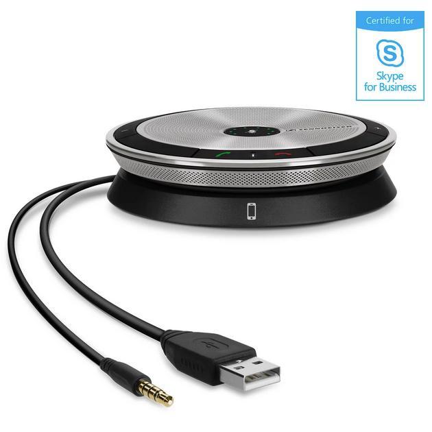 Sennheiser-Speakerphone-SP-20-ML-Klinke-USB