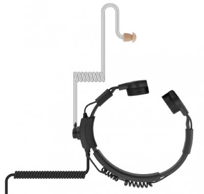 Titan-Throat-Mic-Tactical-Kehlkopfmikrofon-mit-Schallschlauch