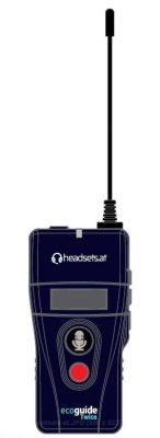 EcoGuide-Twice-Transmitter-headsets-at
